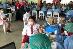 Kota Yogyakarta awali pelaksanaan vaksinasi untuk anak diikuti 250 pelajar
