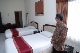 Rektor UGM meresmikan Hotel UC dan Wisma Kagama jadi shelter COVID-19
