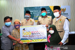 Baznas Jatim biayai pendidikan anak dari orang tua meninggal pandemi COVID-19