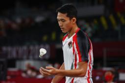 Olimpiade Tokyo, Jonatan Lolos Dari Tekanan Rubber Game Kontra Kean Yew thumbnail