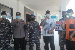 ASDP Ternate bekerjasa sama dengan TNI-AL edukasi penggunaan masker di pelabuhan