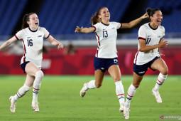 Tim putri AS bertemu Kanada di semifinal