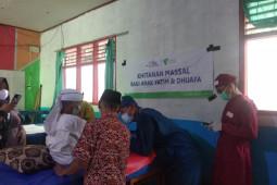 Dompet Dhuafa Bersama LAZ Chevron hadirkan khitanan massal bagi puluhan anak yatim dan dhuafa di Jasinga