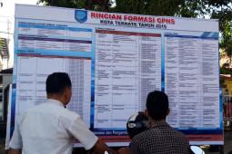 Sejumlah kabupaten/kota di Malut sampaikan jadwalkan seleksi CPNS, perebutkan peluang