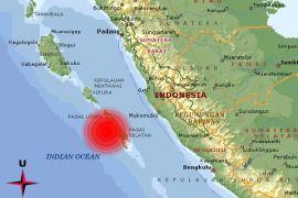 Gempa tektonik magnitudo 5,8 di Pagai Selatan dirasakan hingga Bengkulu