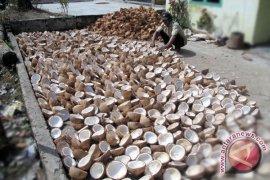 Mukomuko dorong pengolahan batok kelapa untuk kerajinan