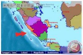 Bengkulu diguncang gempa 4,2 SR