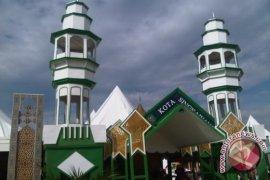 Stan Pameran Singkawang Berbentuk Masjid Raya Ramai Dikunjungi