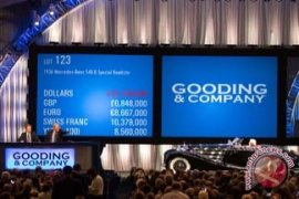 Gooding & Company Memecahkan Rekor Dunia Dalam Sejarah Lelang Otomotif dengan $113,7 Juta di Pebble