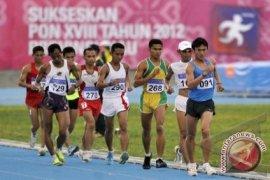 Atlet Jalan Cepat Kalbar Kalah Lawan Tuan Rumah