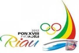 Bengkulu baru kumpulkan lima keping medali PON