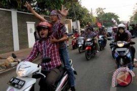 Pendukung Jokowi-Ahok Konvoi