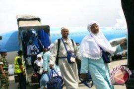 Sebanyak 2.000 jamaah haji Kalsel sudah pulang ke Tanah Air