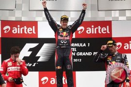 Vettel kembali start terdepan di Texas