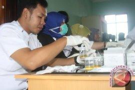 BNNK Sanggau tes urine anggota DPRD