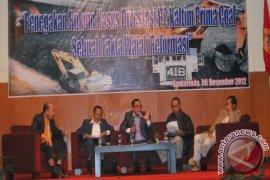 Dialog Penegakan Hukum Kasus Divestasi Saham KPC