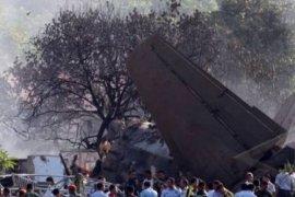 Pesawat jatuh usai lepas landas di Kazakhstan, 12 tewas