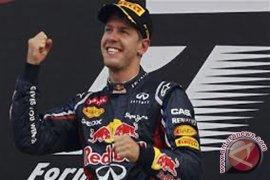 Vettel catatkan waktu tercepat pada uji Formula 1