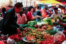 Pasar De Curup percontohan tertib timbangan