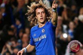 David Luiz amankan kemenangan 2-1 bagi Chelsea