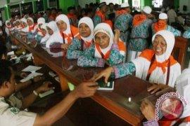 Jemaah Haji Bangka Barat Tiba di Muntok