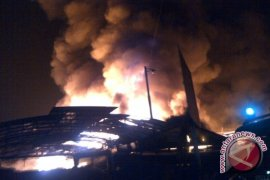 Pasar Rawa Indah Bontang Ludes Terbakar