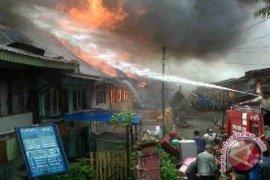 Belasan rumah hangus terbakar di Sungaipenuh