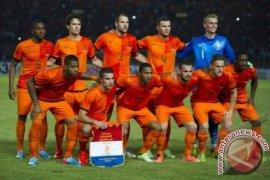 Arjen Robben dan Timnas Belanda Tiba