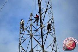 Pemkot Bekasi bongkar menara telekomunikasi di trotoar