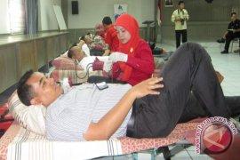 Dorong Kesadaran Donor Darah di SKPD