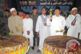 Musik Dol Semarakkan Takbir di Bengkulu