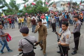 Penurunan bendera Aceh
