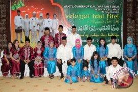 Bersyukur Perayaan Idul Fitri  di Kaltim Aman dan Semarak