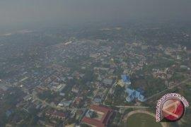 Jarak pandang Kota Pekanbaru 100 meter