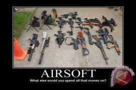 Polda Tertibkan Kepemilikan Airsoft Gun