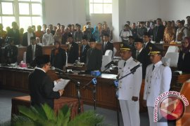 Gubernur Bangka Belitung Lantik Bupati Bangka