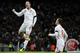 Dua gol Rooney bawa Inggris kalahakn Skotlandia