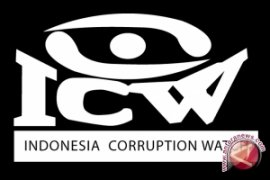 ICW: korupsi masih dianggap masalah masyarakat