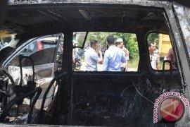 Avanza Terbakar Di SPBU Kotabaru
