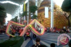 Parade Barongsai meriahkan liburan Imlek di Jungleland