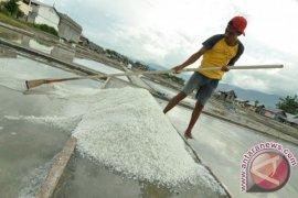 Bertambak Garam Kurang Diminati Warga Karawang