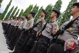 Polisi Bangka Barat Gelar Apel Siaga Pilpres