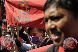 Aksi Buruh Bali Bersatu