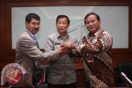 Prabowo Kunjungi DPP Pepabri Bantah Minta Dukungan