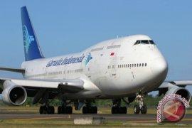 Garuda Terbang Perdana Manado-Sorong