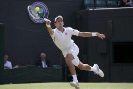 Tidak ada lapangan rumput?, bukan masalah bagi Djokovic