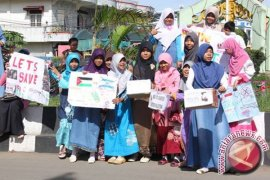 Pemuda Mahasiswa Aksi Galang Dana Palestina