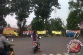 Polisi pasang spanduk Kamtibmas jelang putusan MK