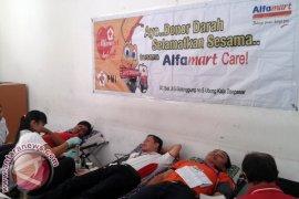 Alfamart Bali Gelar Donor Darah