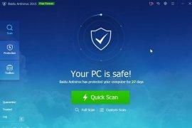 Antivirus Baidu Versi 5.0 Gratis di Download